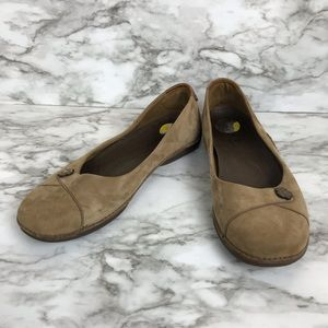 TIMBERLAND leather flat loafers size 8